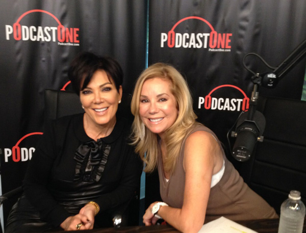 Kris Jenner and PodcastOne's Kathie Lee Gifford Get Personal