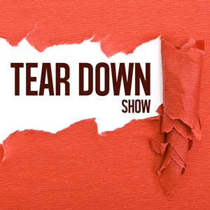 PodcastOne: Tear Down Show #181: We Steal Podcast Signs